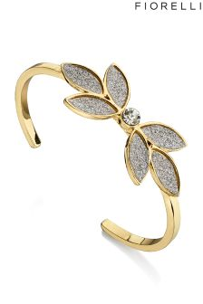 Fiorelli Glitter Flower Bangle