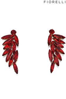 Fiorelli Costume Marquise Acrylic Earrings