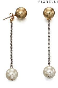 Fiorelli Stud Earring With Pearl Drop