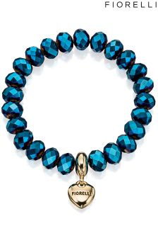 Fiorelli Stretch Bracelet With Heart Charm
