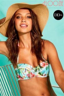 Floozie Treasure Island Print DD+ Bikini Top