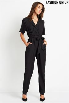 Fashion Union Pleated Jumpsuit