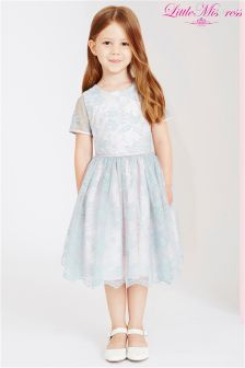 Little Missdress Lace Overlay Dress