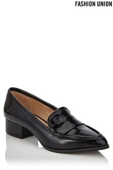 Fashion Union Patent Loafers