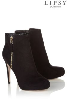 Lipsy Heeled Zip Ankle Boot