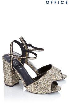 Office Glitter Sandals