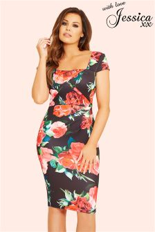 Jessica Wright Floral Dress