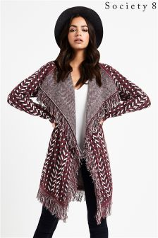Society 8 Oversized Waterfall Cardigan