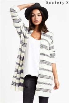 Society 8 Striped Cardigan