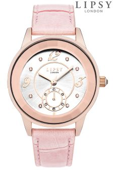 Lipsy Round Face Buckle Strap Watch