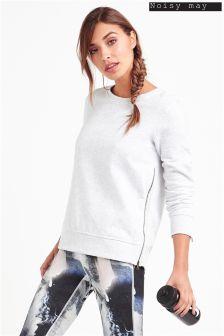 Noisy May Zip Sweater