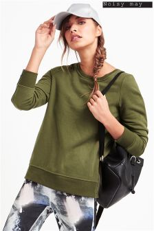 Noisy May Zip Sweater