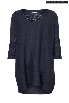 Noisy May V neck Knit Top