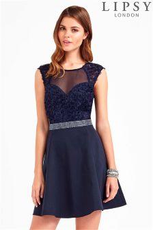 Lipsy Rose Petal Prom Dress