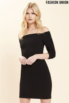 Fashion Union Midi Bandage Dress