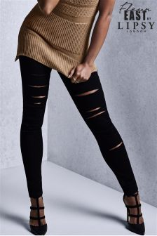 Fleur East by Lipsy Ripped Skinny Jeans
