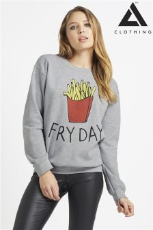 Adolescent Clothing Fry Day Sweater