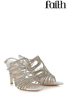 Faith Diamanté Sandal