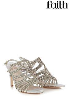 Faith Diamanté Sandal