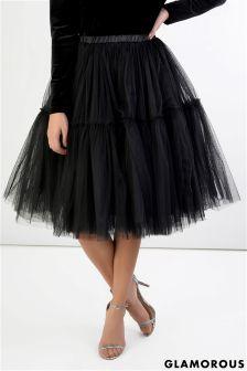 Glamorous Frill Tulle Skirt