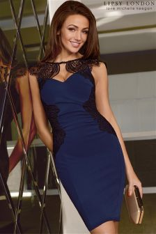 Lipsy Love Michelle Keegan Lace Placement Dress