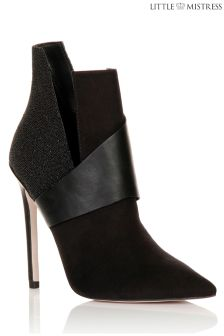 Little Mistress Heeled Ankle Boots