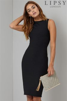 Lipsy Sleeveless Bandage Dress
