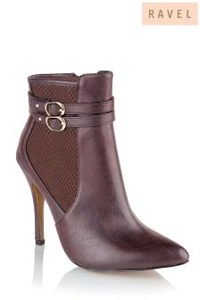 Ravel Buckle Ankle Boot