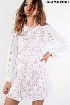 Glamorous Lace Dress
