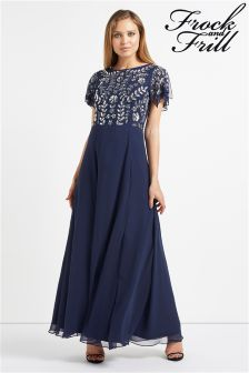 Frock & Frill Embellished Prom Dress