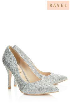 Ravel Glitter Court Shoes
