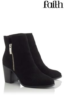 Faith Side Zip Ankle Boot