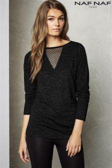 Naf Naf Long Sleeve Pullover