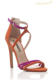 Soloro Strappy Heeled Sandals