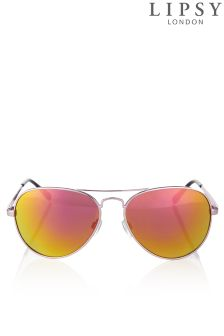 Lipsy Mirror Aviator Sunglasses