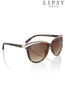 Lipsy Temple Detail Sunglasses