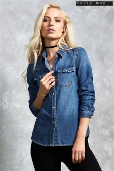Noisy May Denim Shirt