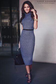 Lipsy Love Michelle Keegan Cowl Neck Dress