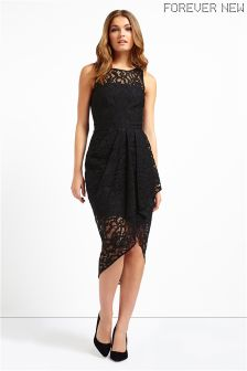 Forever New Lace Wrap Dress
