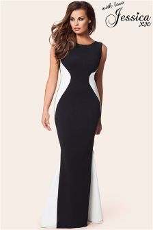 Jessica Wright Fishtail Maxi Dress