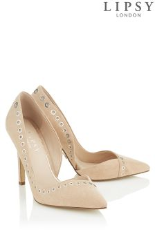Lipsy Lacey Eyelet Court Heels