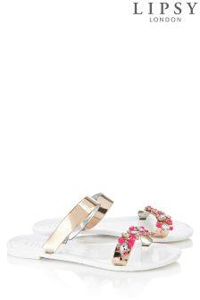 Lipsy Double Band Diamante Jellies
