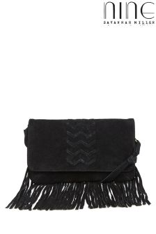 Nine By Savannah Miller Fringe Crossbody Bag
