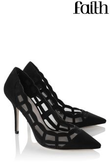 Faith Mesh Court Heels