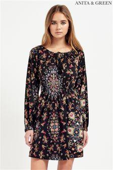 Anita & Green Floral Print Dress