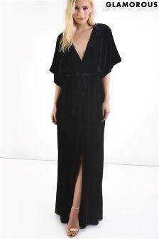 Glamorous Petite Velvet Maxi Dress