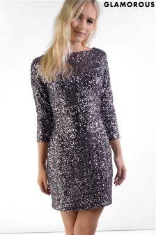 Glamorous Petite Sequin Dress