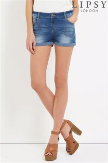 Lipsy Mid Rise Denim Short