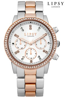 Lipsy Two Tone Bracelet Watch