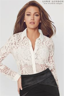 Lipsy Love Michelle Keegan Lace Blouse